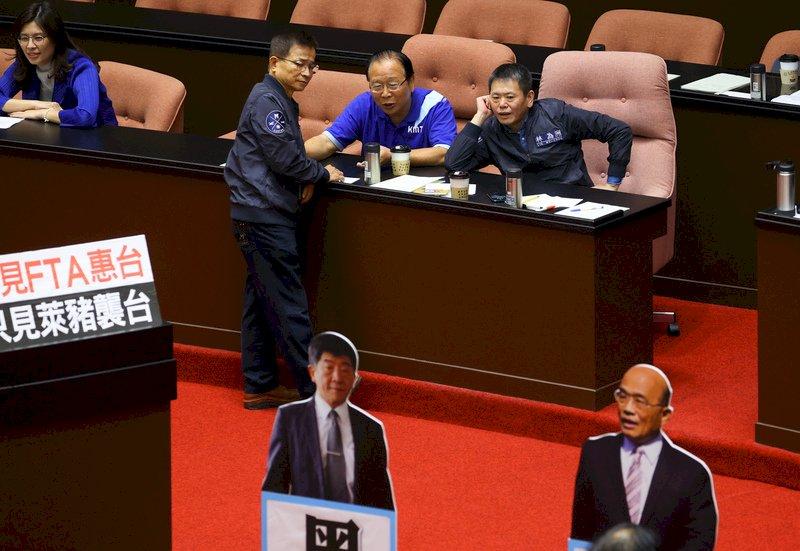 施政報告第四度遭杯葛 蘇揆再批藍營妨礙他黨立委職權