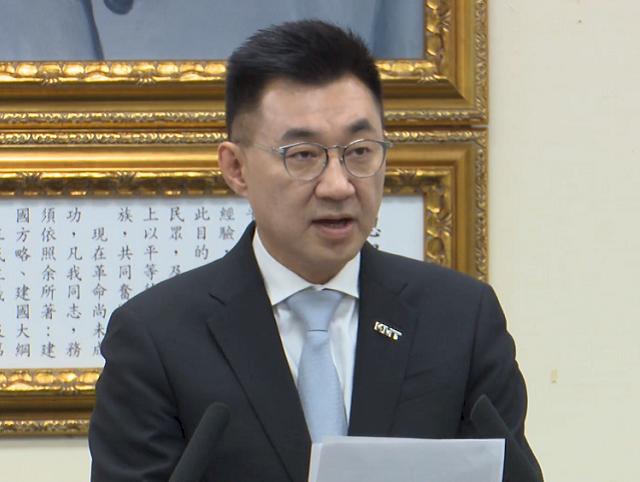 江啟臣:台灣光復是歷史臍帶 兩岸沒有互相對抗理由