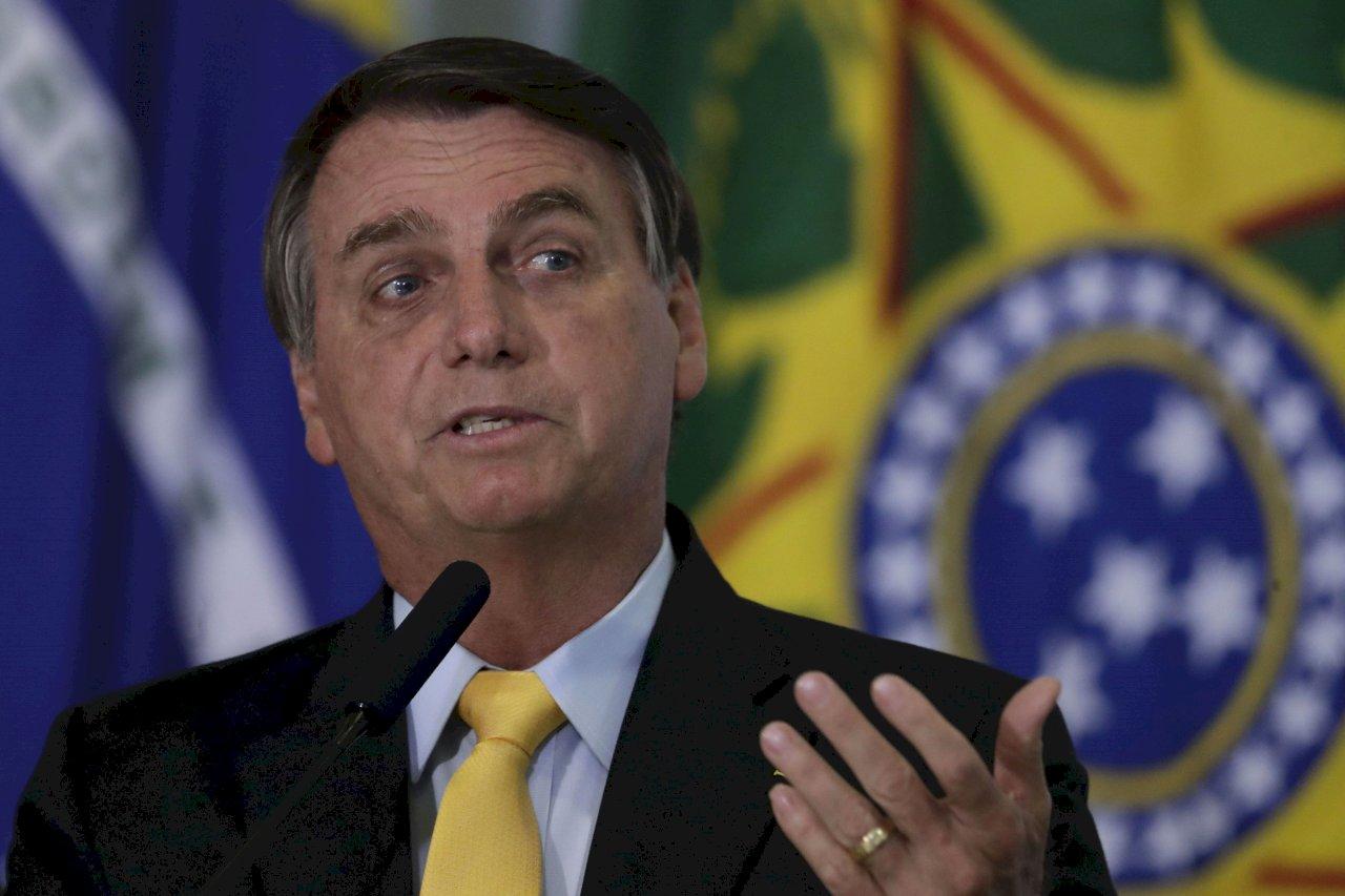 巴西總統波索納洛證實 不接種COVID-19疫苗