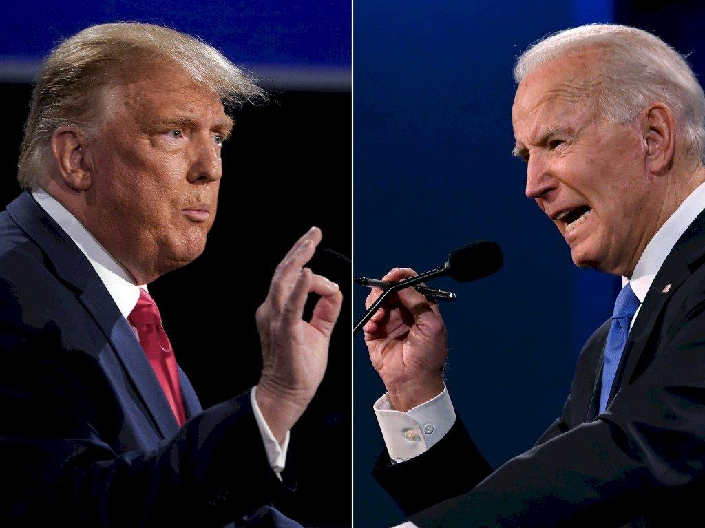 美國2020大選系列/辯論熱鬧卻無助選情 川普難加分