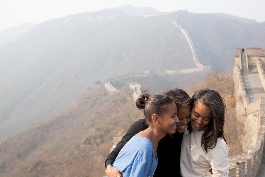 總統夫人蜜雪兒遊長城 為何害慘大陸異議人士?中國玩「維穩」楣角好多