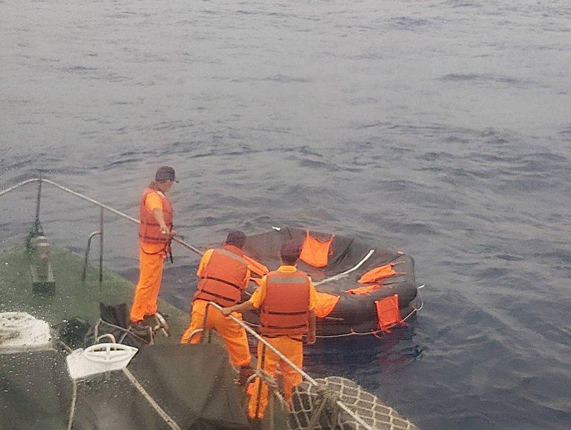 吐瓦魯籍貨船高雄外海沉沒  5獲救5失蹤