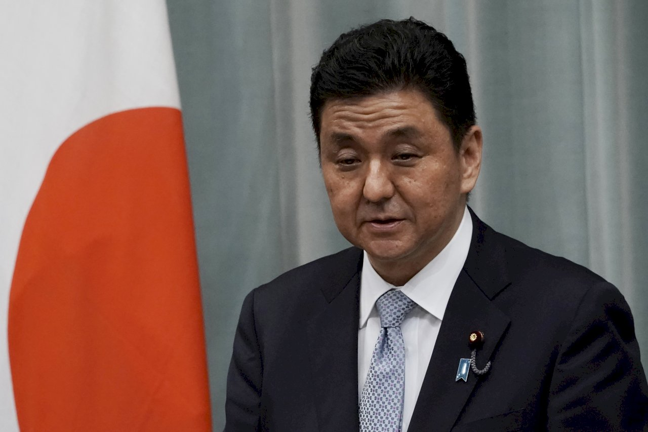 日本防衛大臣:台灣若出事 日本也無法置身事外