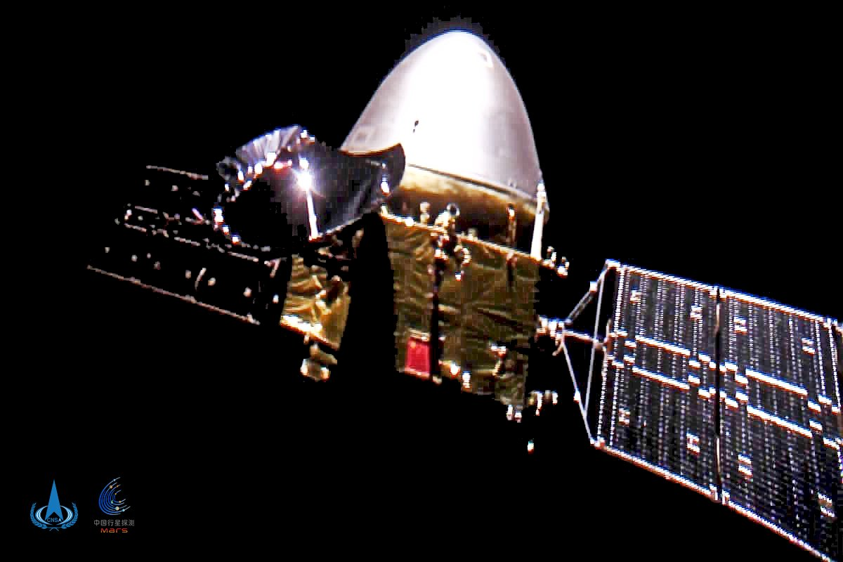 中國官媒:天問一號探測器明年5月登陸火星
