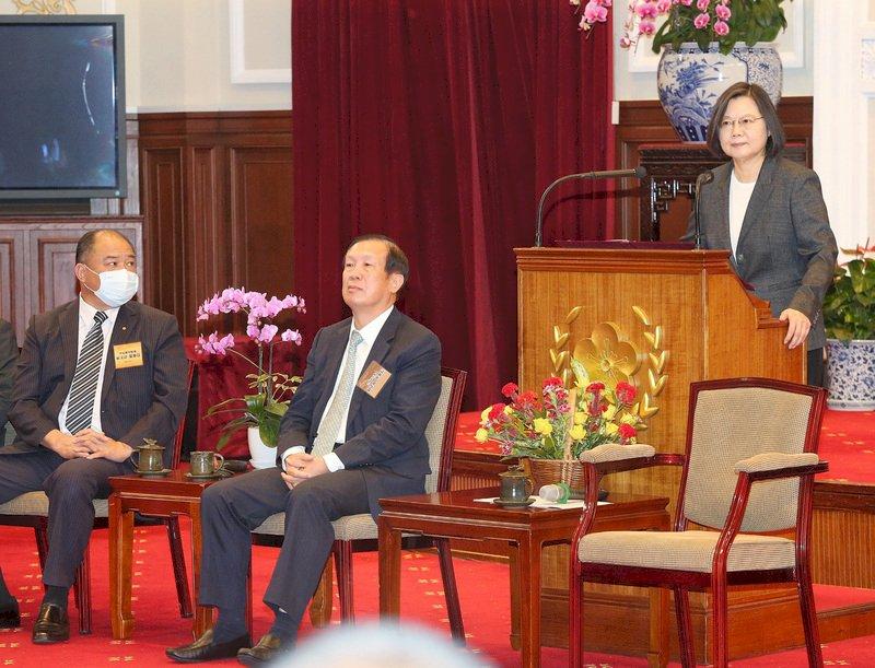 總統接見優良商人及老店 特別提台北人充滿回憶地點