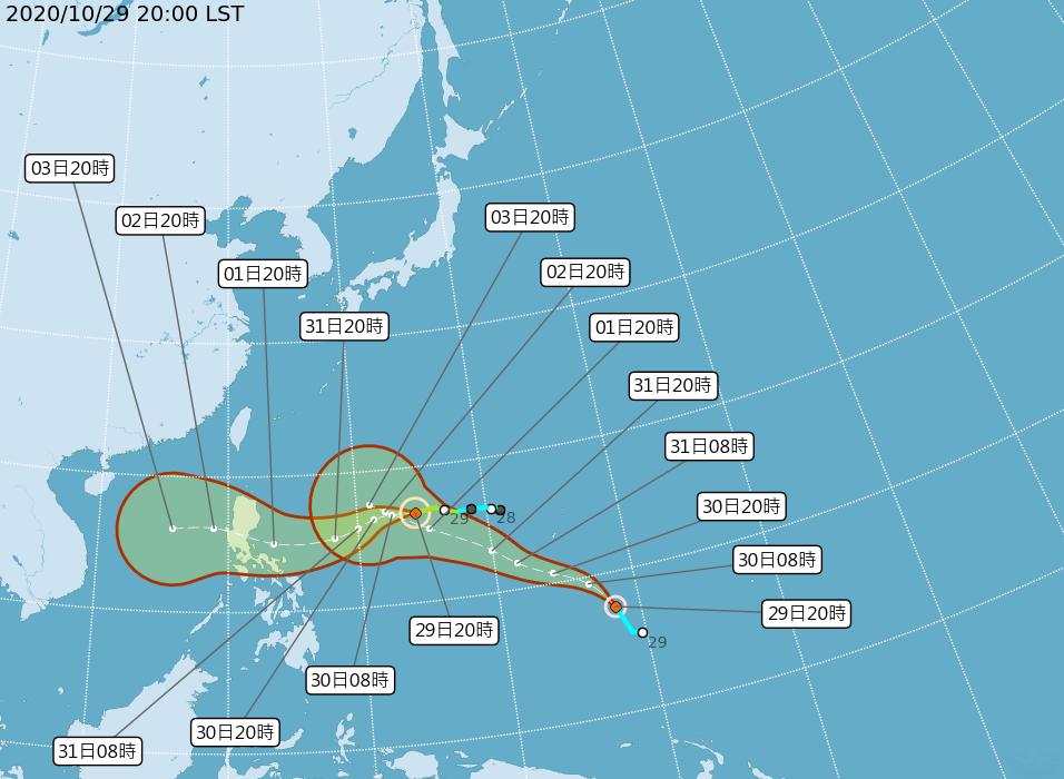 輕度颱風閃電生成 是否影響台灣待觀察