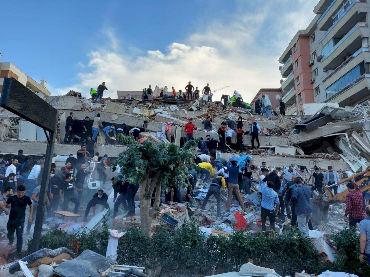 【更新】土耳其西南強震已知4死152傷近20建物倒塌