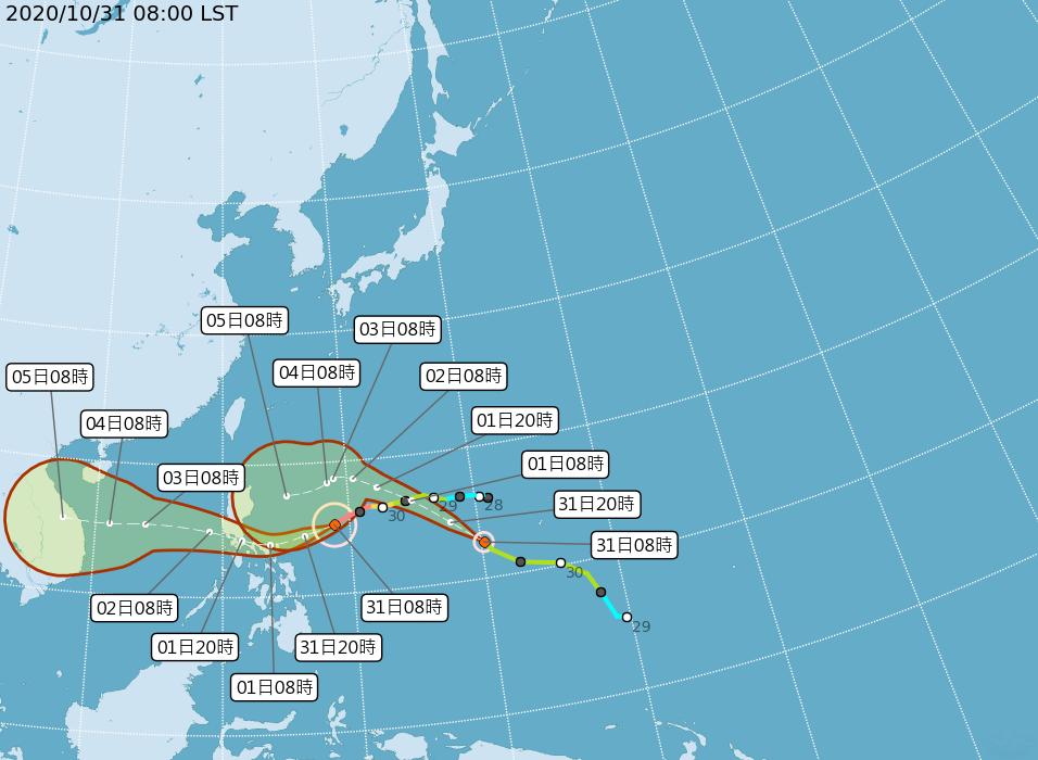 颱風天鵝創史上最快增強紀錄 閃電具類似條件