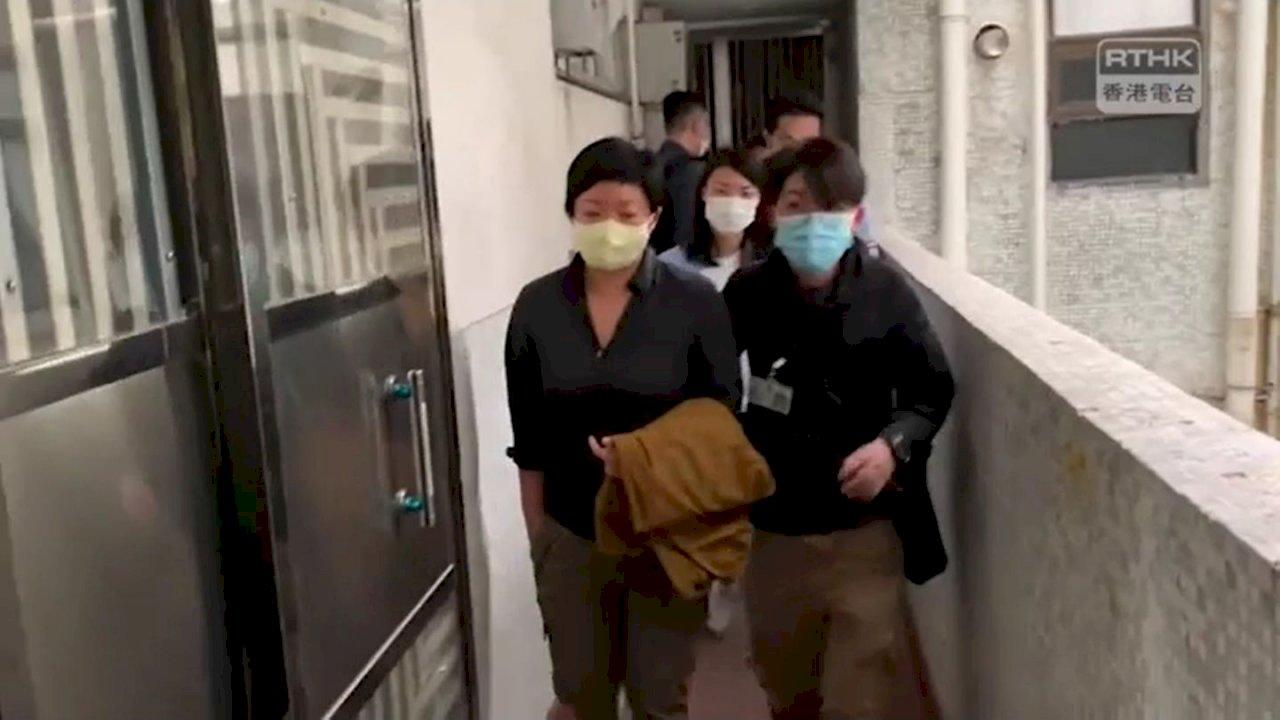 香港電台蔡玉玲拍攝721被捕 歐盟關注