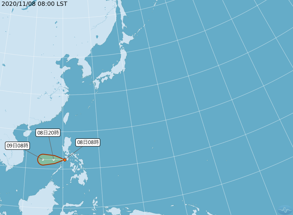 颱風艾陶最快9日生成 對台無直接影響