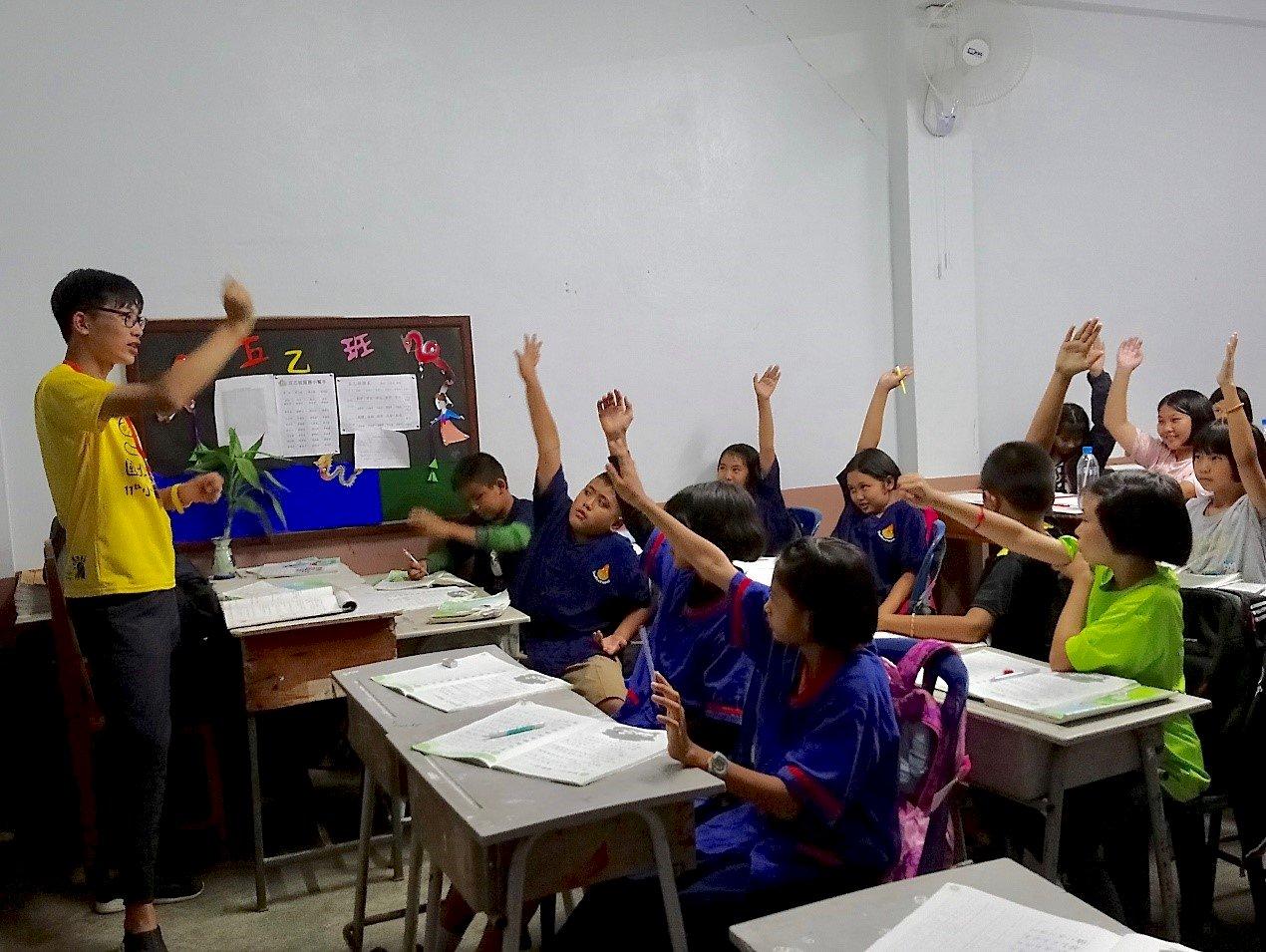 台生海外服務足感心 每年資助泰北兩校學童上學