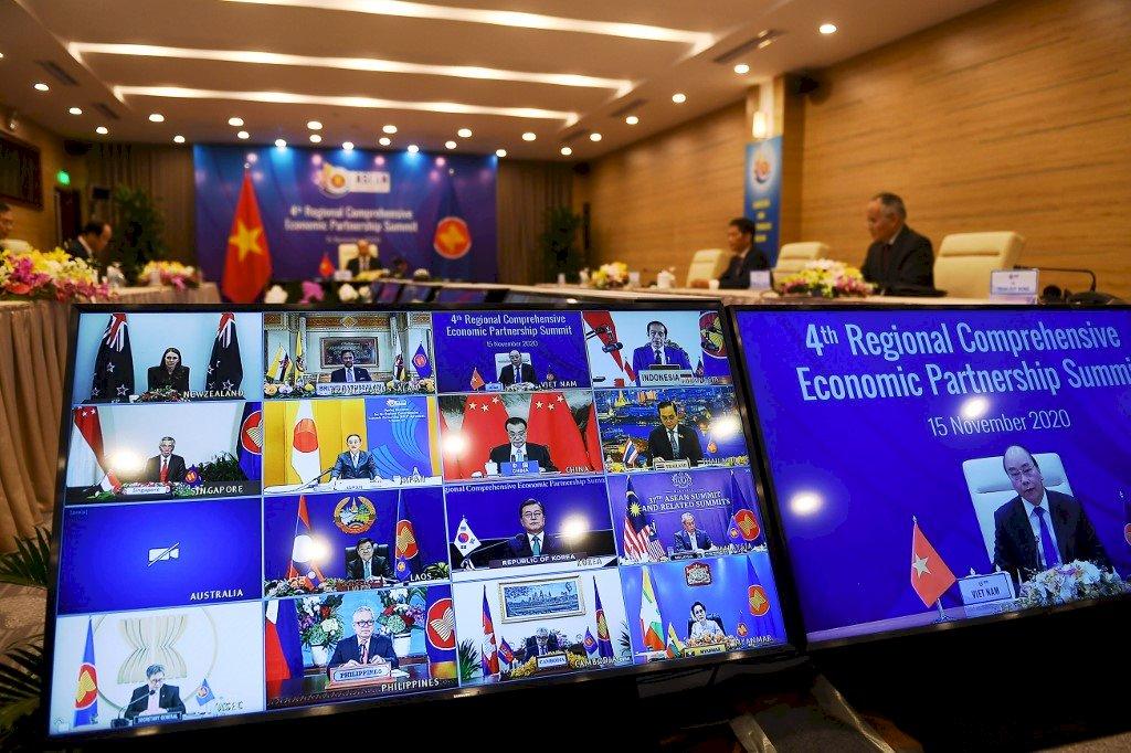 中國商務部:6個月內完成RCEP核准與實施準備