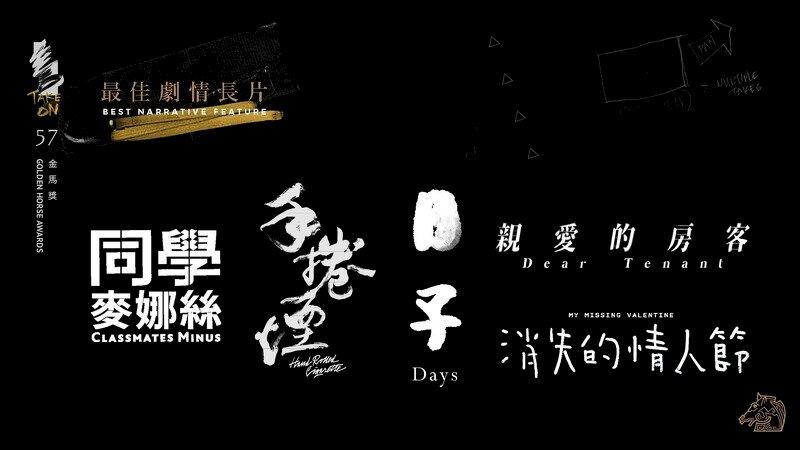 金馬57/決戰之夜  國片誰最風光今晚揭曉
