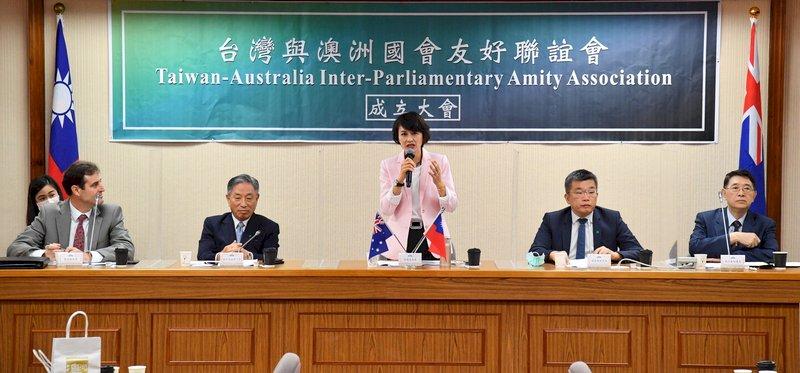立院成立台澳國會友好聯誼會 盼穩固民主價值同盟