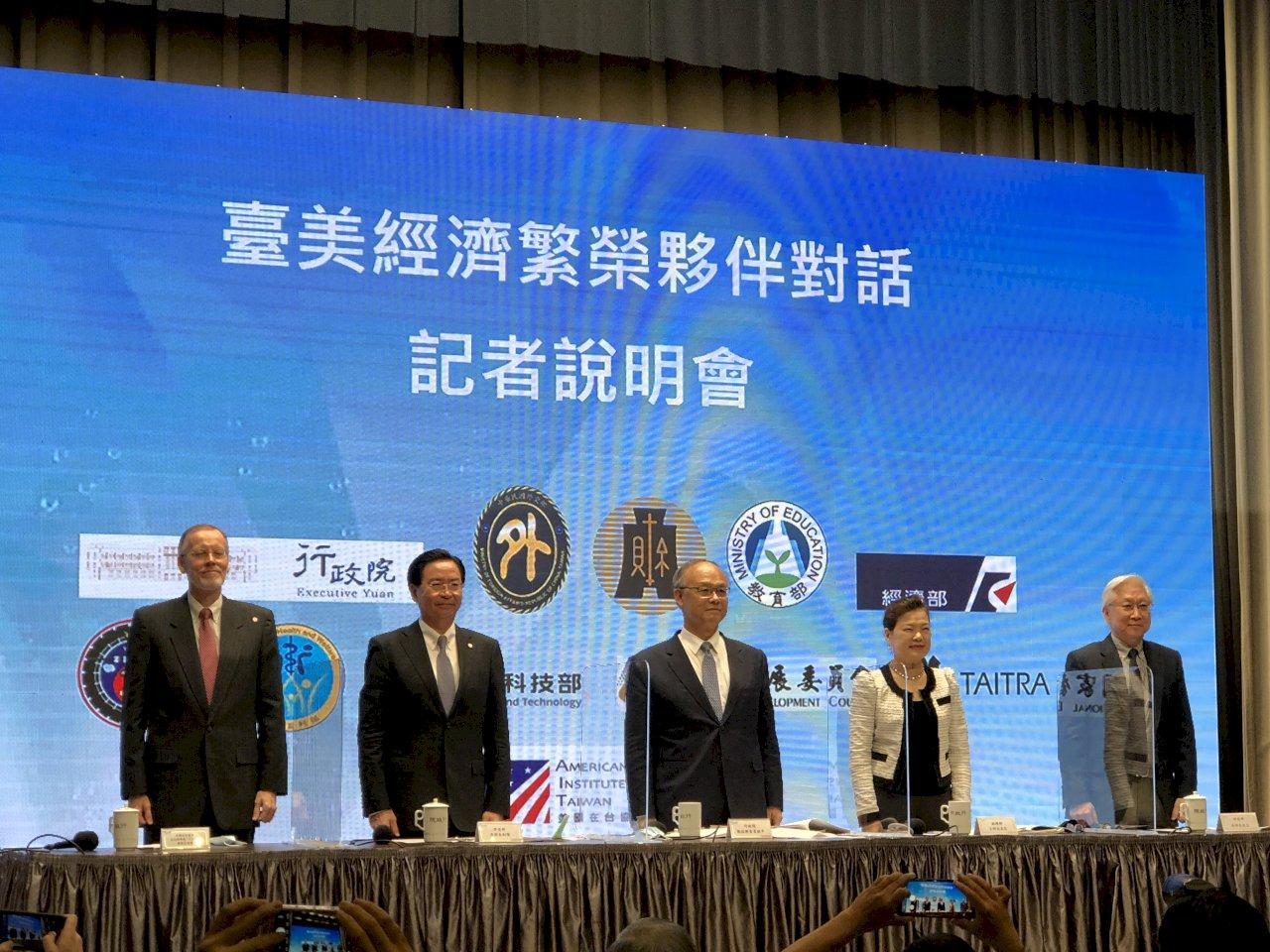 台美簽署MOU聚焦七大議題 半導體供應鏈列優先項目