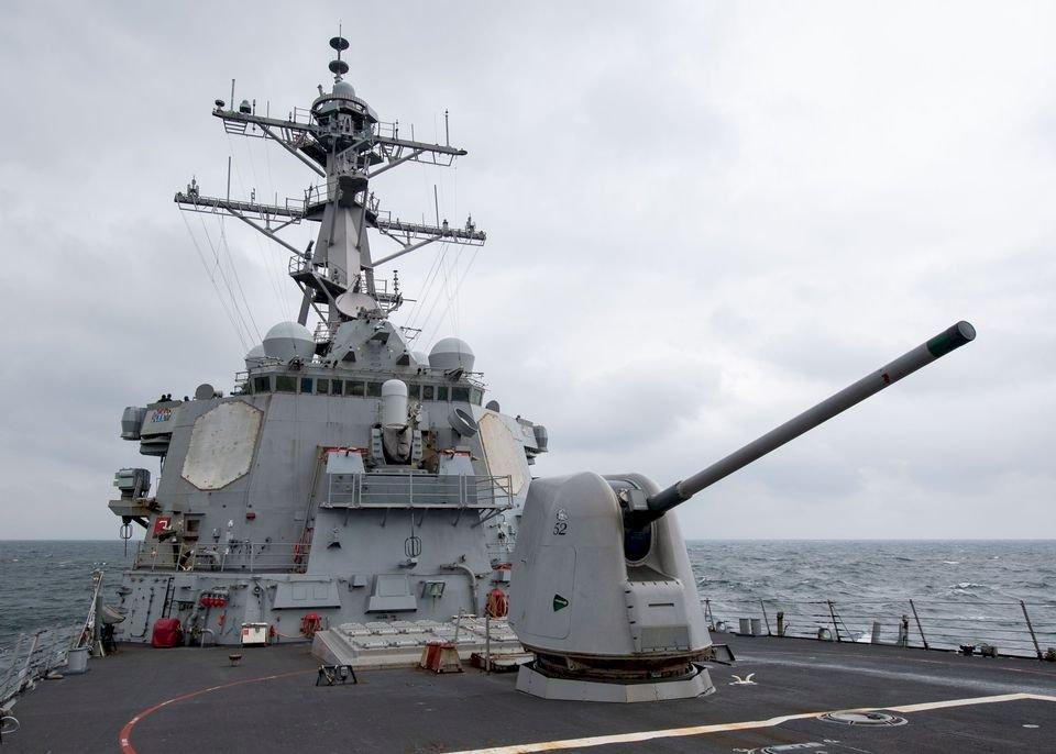 美軍驅逐艦通過台灣海峽 今年第11次