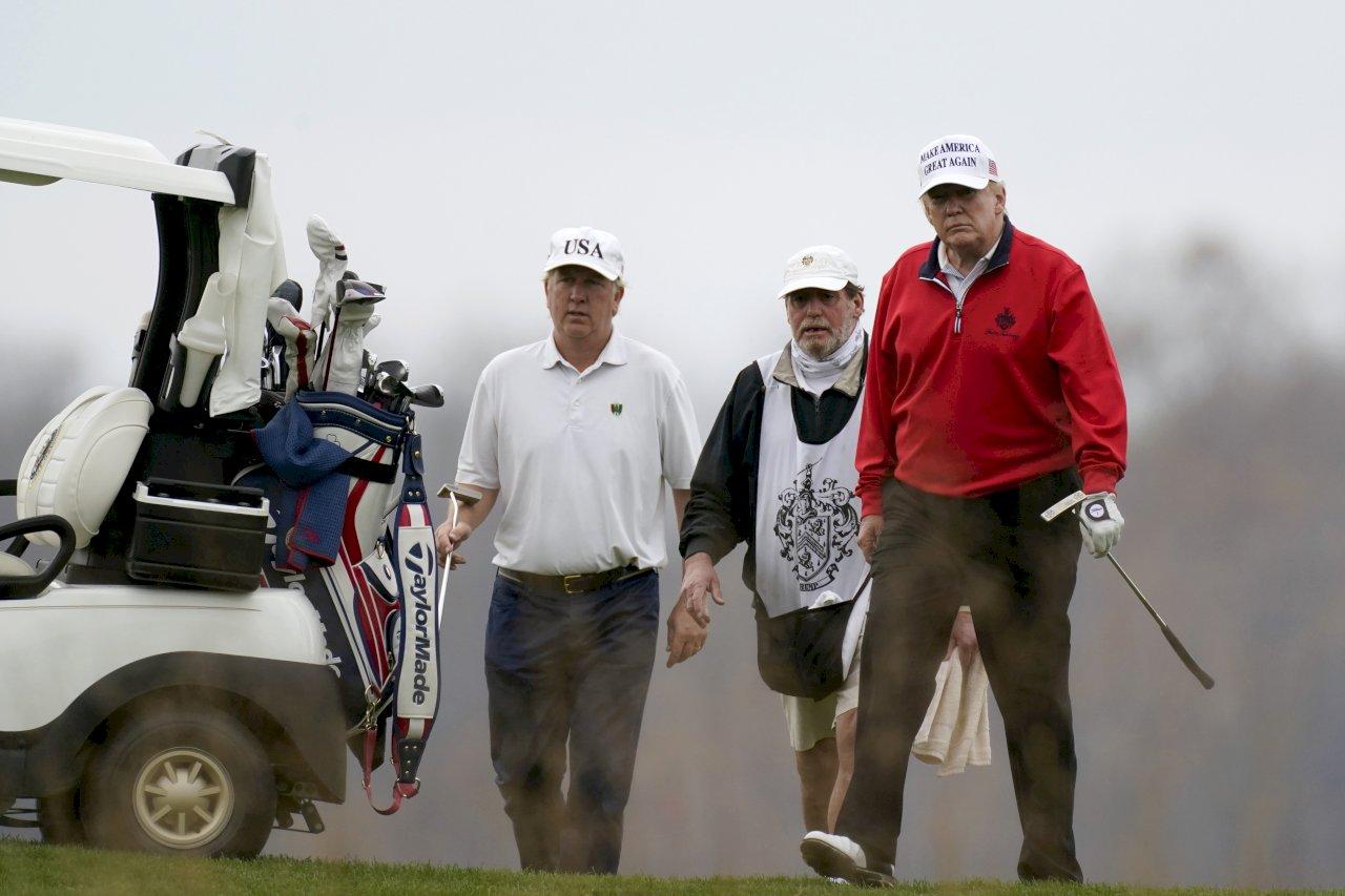 川普G20發言盼再共事 提前離開打小白球