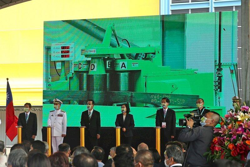 中科院:潛艦國造2項紅區裝備 下月可望取得