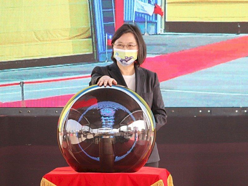 潛艦國造動工 總統:讓世界看見台灣守護主權強烈意志(影音)