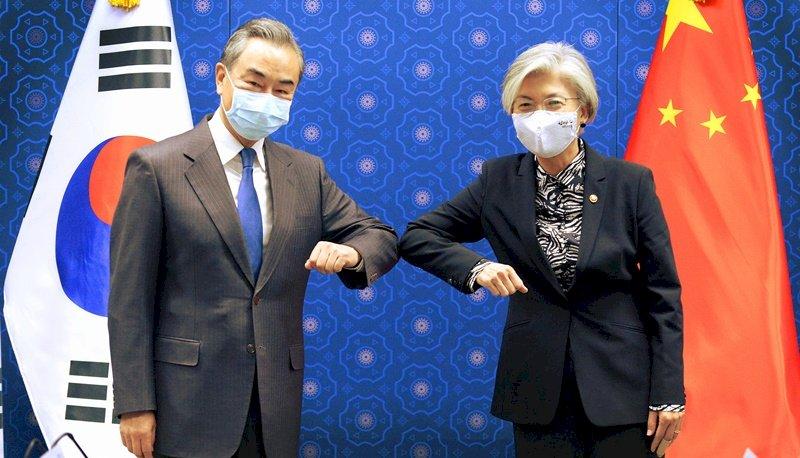 王毅訪韓 談習近平行程與中韓合作