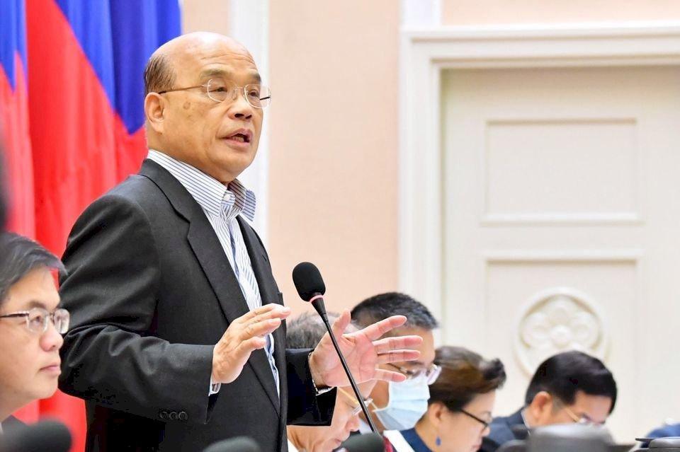 台灣對中投資佔比降至33% 蘇揆:雞蛋不放同一籃子