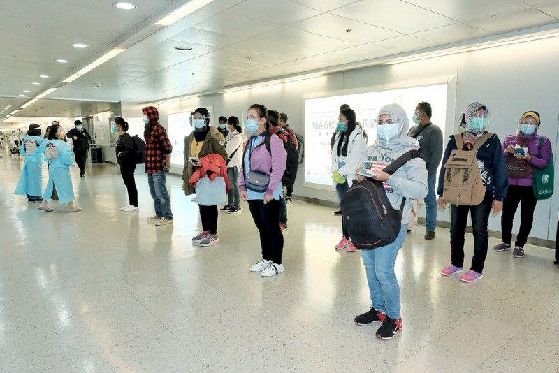 移工自5月19日零時起暫緩入境 勞動部估計影響7200人
