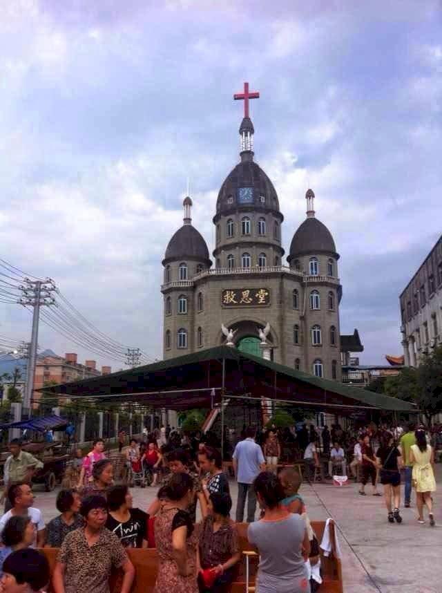 向莉視角/人民有信仰:強拆十字架事件和平陽救恩堂教案