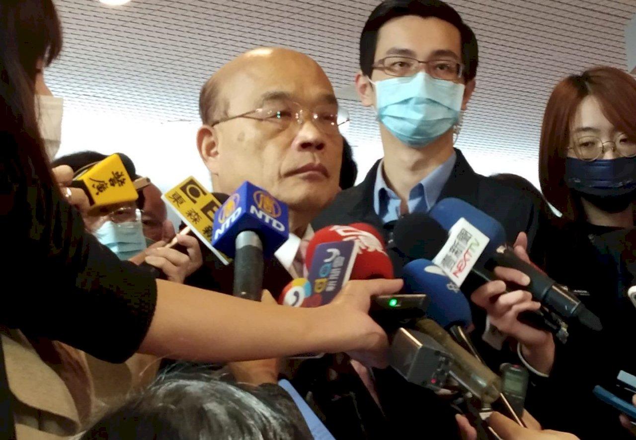 黃之鋒等被判入獄 蘇揆:追求公理正義的道路 台灣不讓香港孤單