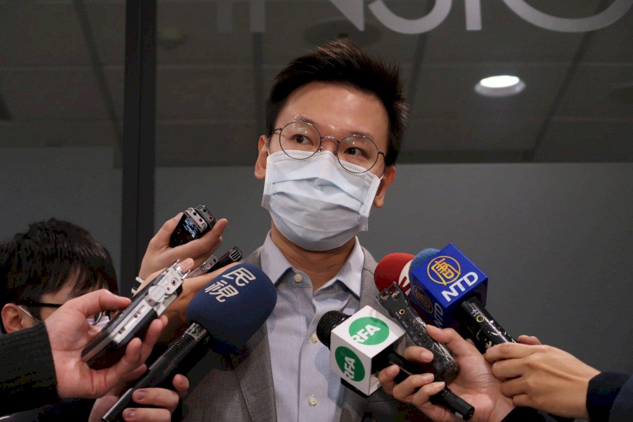港警大搜捕 立委支持台灣版人權法「撐香港」並制裁獨裁