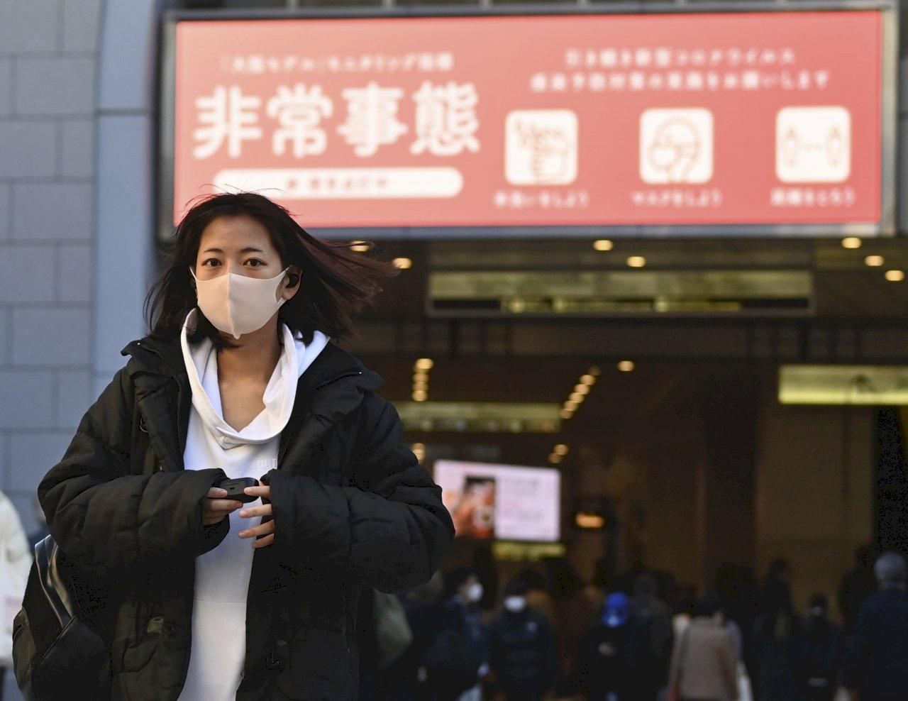 日本疫情難止 大阪20日將籲請第3次緊急事態宣言