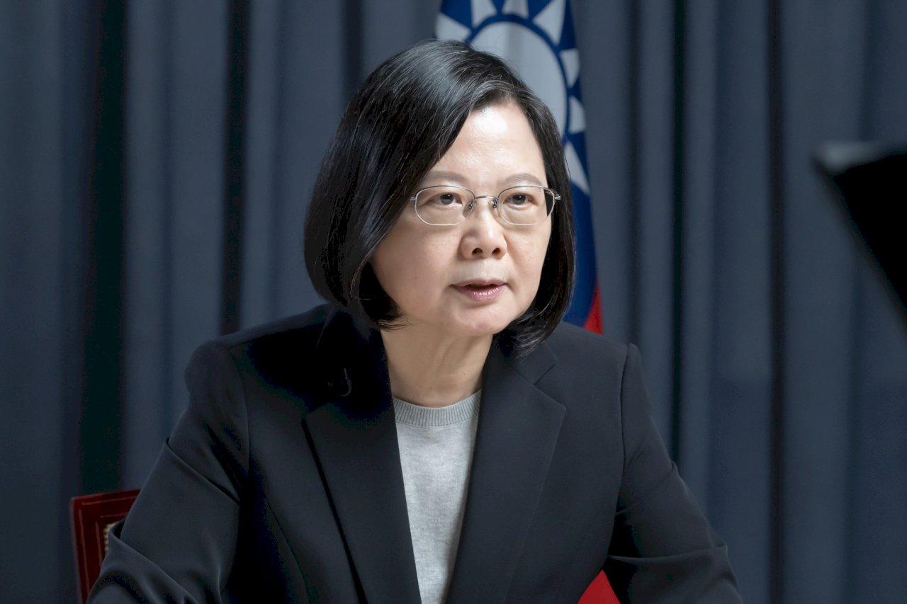 獲頒國際領袖先鋒獎 總統:捍衛台灣自由民主 亦不會對安全有任何妥協(影音)