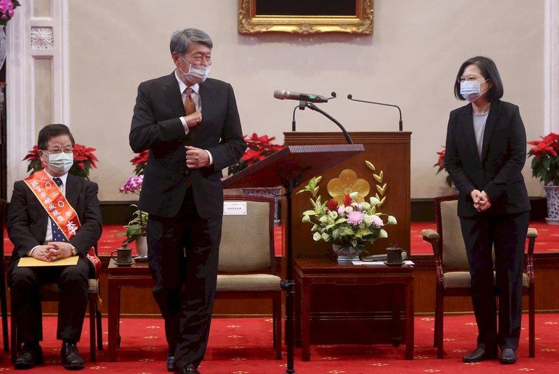 總統:爭取與各國簽經貿合作協定 深化參與區域與全球經濟