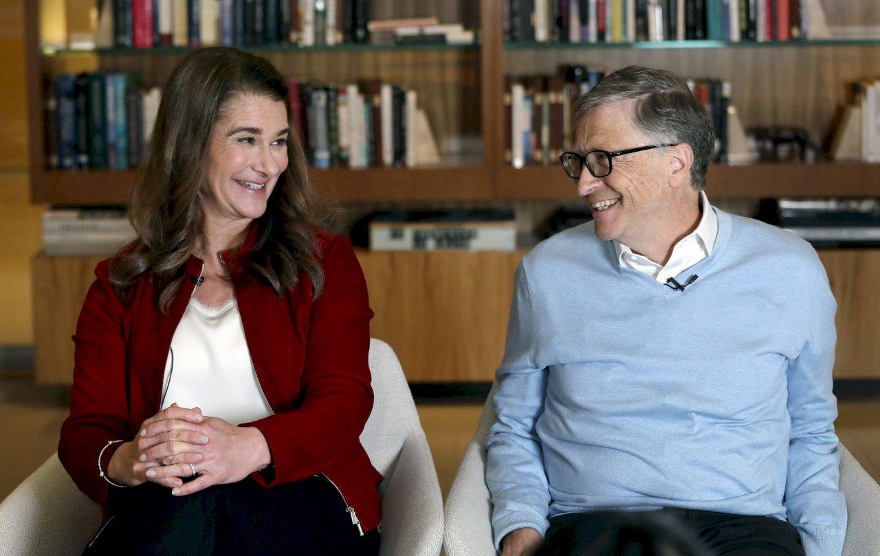 微軟創辦人比爾蓋茲 與妻子梅琳達宣布離婚