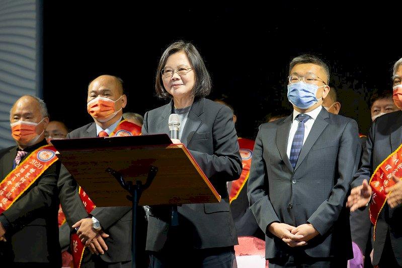 蔡總統:2020是台灣最國際的一年 籲加強防疫