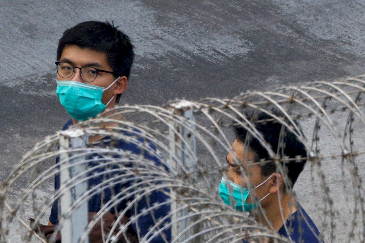 黃之鋒遭判刑 德官員憂北京全面控制香港