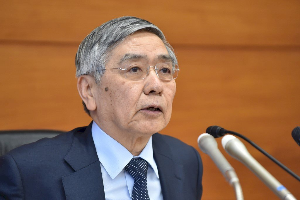 日人只想存錢不願消費導致通縮20年  黑田東彥任內2%通膨目標終失敗
