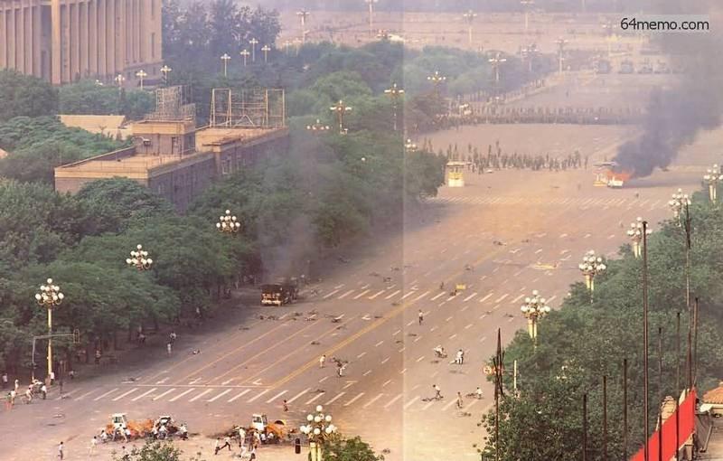 我的一九八九系列》為了避免更多的流血犧牲 邵江建議學生們主動撤離天安門廣場