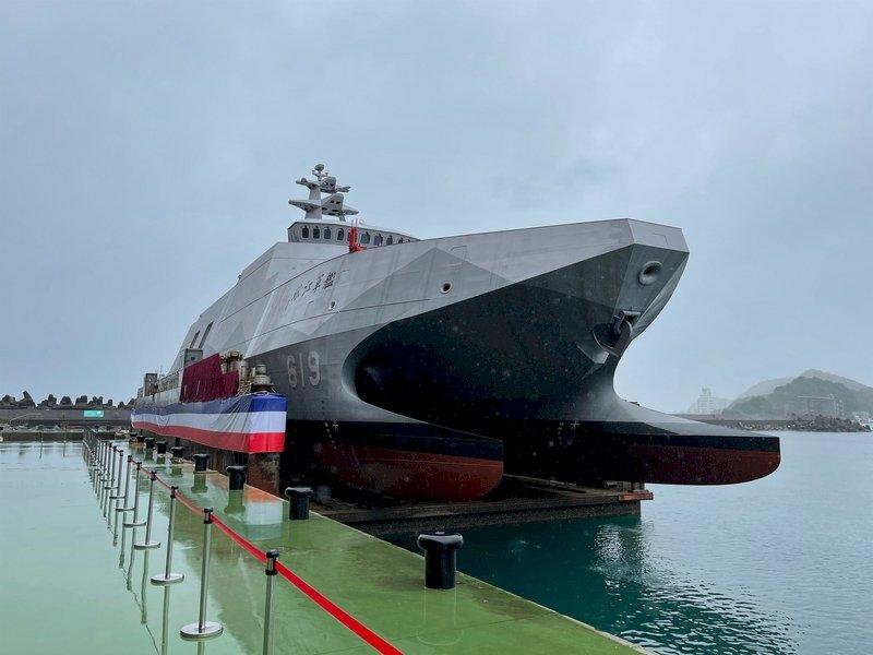 海軍沱江級塔江艦進度超前 7月交艦8月成軍