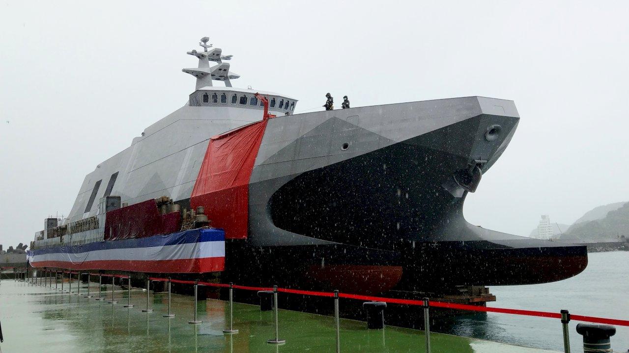布雷艇自動布雷系統技術全球首創 總統:展現國防研發能量