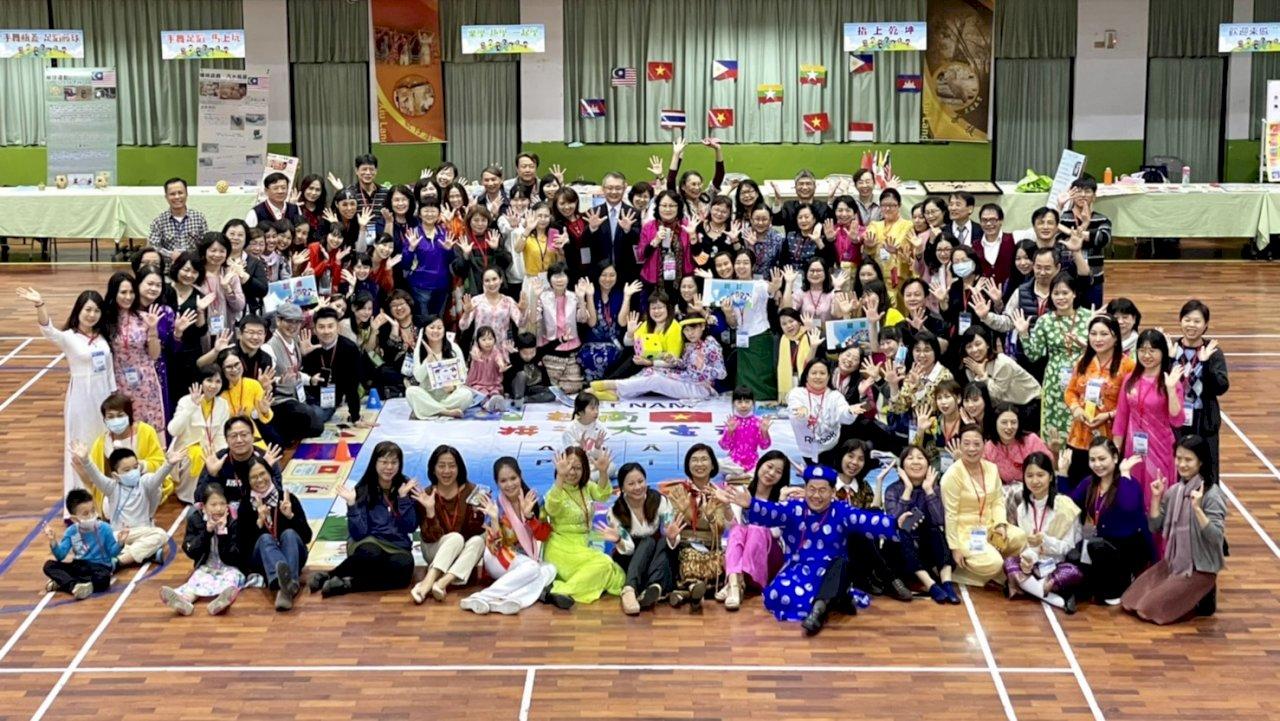 台灣新住民語課發表教案與桌遊教具 交流教學經驗