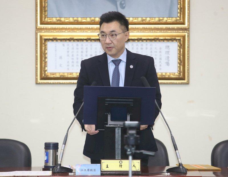 江啟臣:民進黨將在野監督當成政治攻防 令人失望