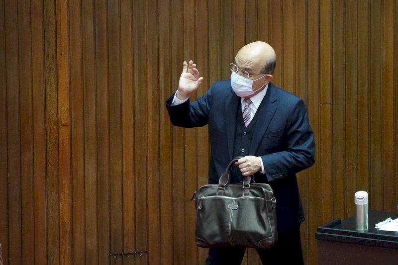 備戰萊豬綠將一致投票 蘇揆舉同婚為例鼓勵為台灣走出去