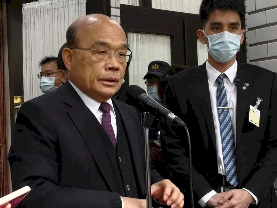 港警大拘捕 蘇貞昌:恐怖手段只會讓世界抨擊中國