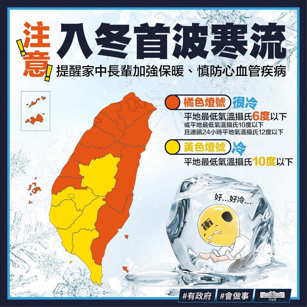 跨年元旦極低温 首爾取消新年敲鐘 日本紅白不開放 台灣總統府元旦升旗照常