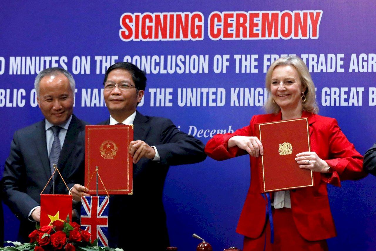 新年賀禮!英國與越南自貿協定明晚生效