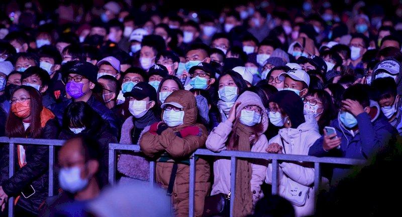 北市跨年夜 柯文哲:國人超守法戴口罩 沒有一個人犯法
