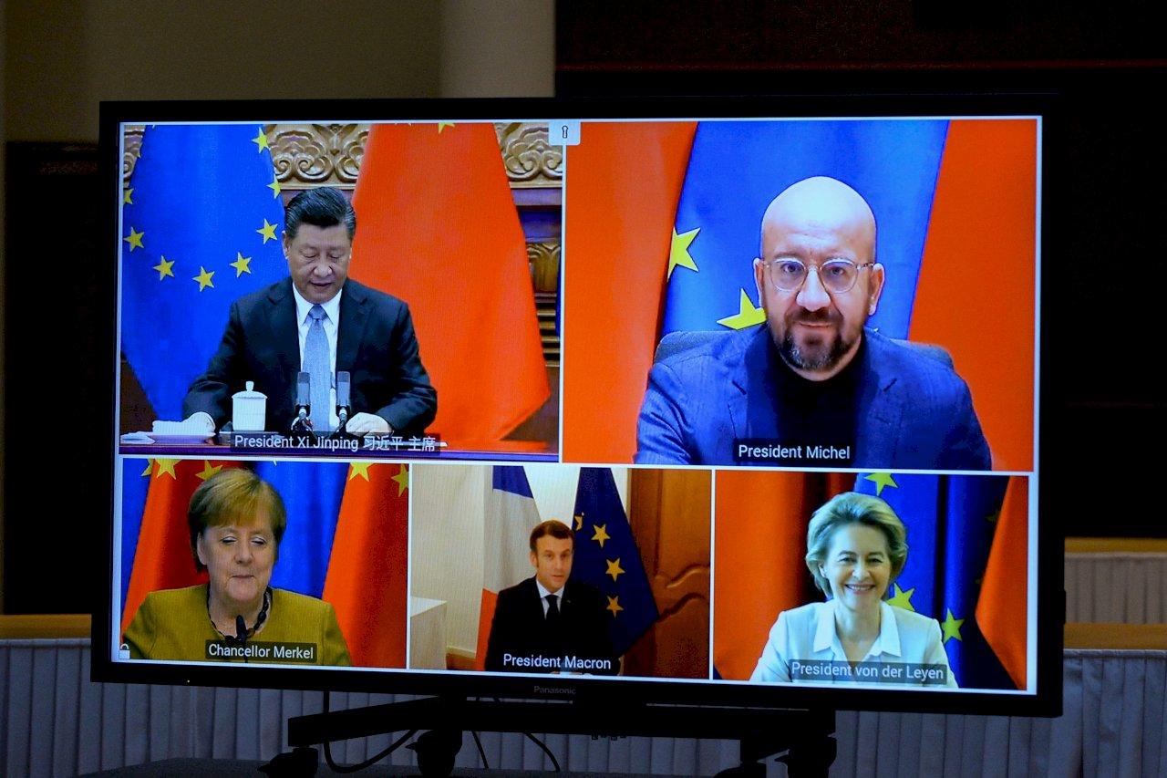 也是讓利?中國急與歐盟簽協定 避免遭全球脫鉤噩夢成真