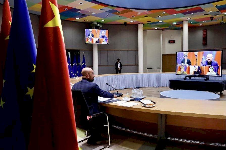中歐領導人會談 「原則上」完成投資協定談判