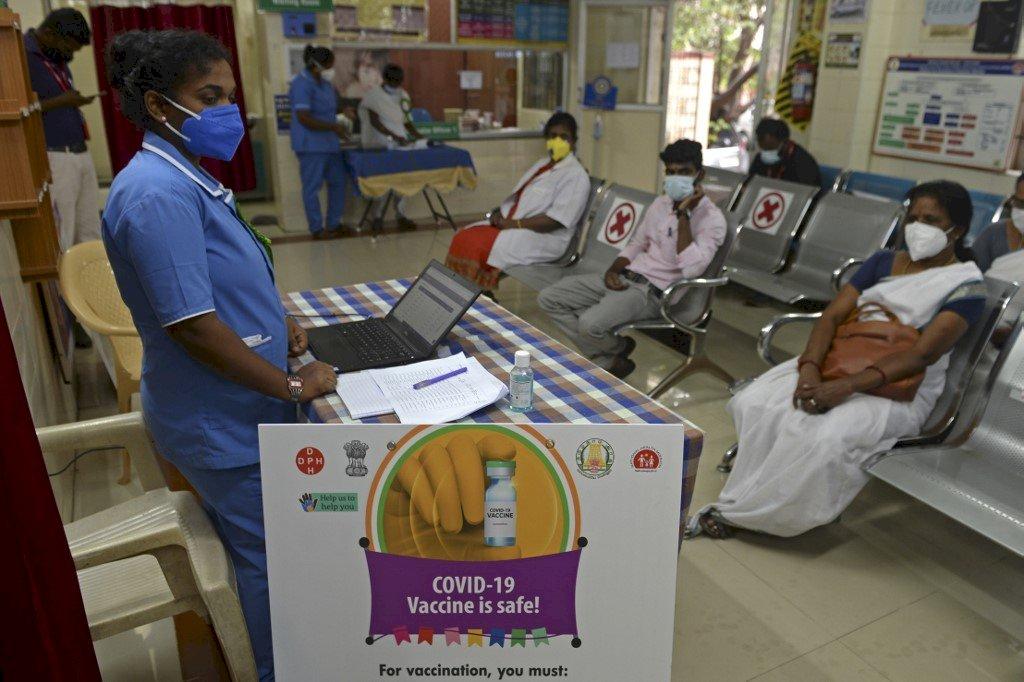 地表最大規模疫苗接種登場!印度16日起為首批3億民眾施打