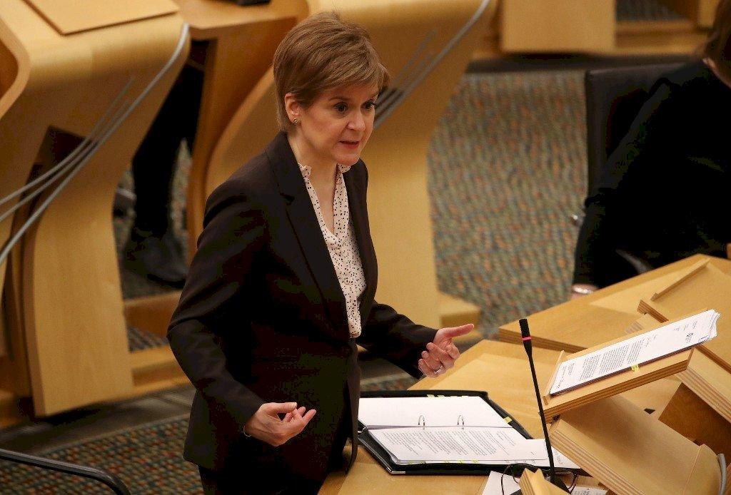蘇格蘭推二次獨立公投 施特金:強生害怕民主